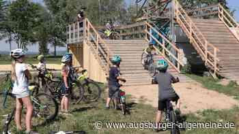 Mountainbiken in Gersthofen - Augsburger Allgemeine