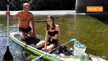 Baden am Lech: Viele Schwimmer unterschätzen die Gefahren - Augsburger Allgemeine