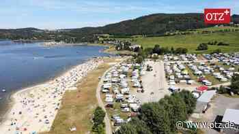 Strandvergnügen statt Elektronik-Festival in Saalburg - Ostthüringer Zeitung