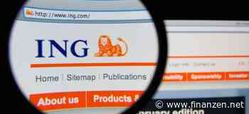 ING-Aktie trotzdem in Grün: ING verzeichnet Gewinneinbruch
