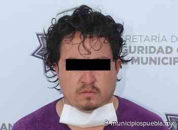 Alejandro, robaba en Tres Cerritos y San Ramón - Municipios Puebla