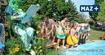 Luckenwalde: Neptunfest im Rundbaukindergarten - Märkische Allgemeine Zeitung