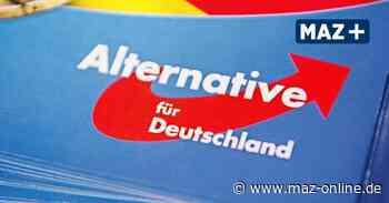 Luckenwalde: AfD-Fraktion löst sich auf - Märkische Allgemeine Zeitung