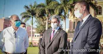 Mario Abdo desarrolla jornada de gobierno en Concepción - La Nación