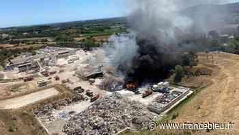 Incendie maîtrisé à la déchetterie de Pignan - France Bleu