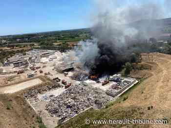 PIGNAN - La déchetterie victime d'un vaste incendie - Hérault-Tribune