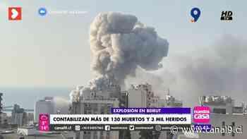 Círculo Libanés de concepción gestionará campaña para afectados por explosión en Beirut - Canal 9 Bío Bío Televisión