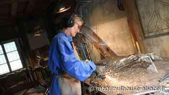 Zimmersheim : Vincente Blanchard, sculptrice-plasticienne - m2A et moi ! Le mag de Mulhouse Alsace Agglomération