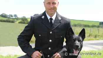 Bei erstem Einsatz: Polizeihund in Wales rettet Frau mit Baby
