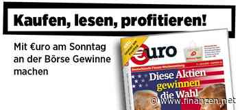 Neue Ausgabe von €uro am Sonntag: Jahrhundertwahl in den USA - Diese Aktien gewinnen die Wahl