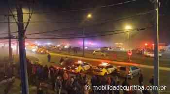 Engavetamento interdita BR-277 em São José dos Pinhais - Mobilidade Curitiba