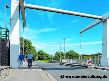 Klappbrücke wird eine Woche gesperrt - Emder Zeitung