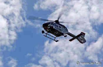 Münster: Polizei sucht 23-Jährigen mit Hubschrauber und Drohnen