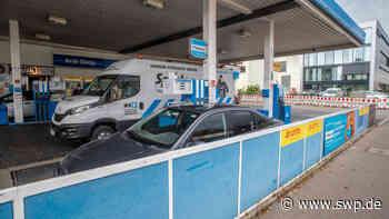 Überfall in Uhingen: Tankstellenraub mit Corona-Maske - SWP