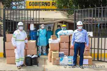 Pesqueras donan implementos de bioseguridad a Minsa y EsSalud en Coishco - Diario Digital Chimbote en Línea