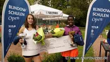 "Aaliyah Nkansah gewinnt ""Blindow Schulen Open"" des Bückeburger TV WRB - Sportbuzzer"