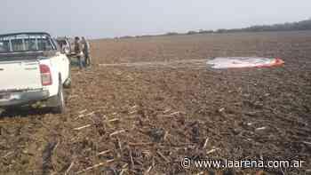 Un avión se estrelló en el límite entre San Luis y Córdoba - La Pampa La Arena