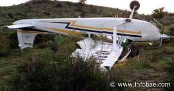Se desplomó una avioneta en San Luis Potosí; el piloto solo presentó lesiones - infobae