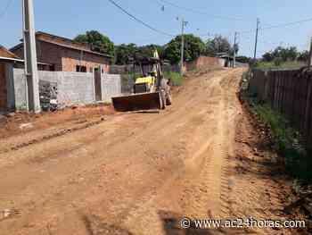 Prefeitura de Sena Madureira inicia recuperação de ruas no bairro Eugênio Areal - ac24horas.com