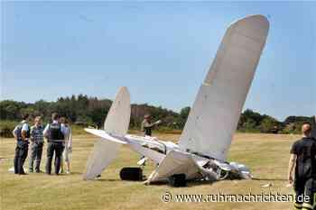 Große Betroffenheit nach Flugzeugabsturz: Pilot (56) verunglückt tödlich - Ruhr Nachrichten