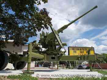 Tillsonburg legion anti-aircraft gun restored - Woodstock Sentinel Review