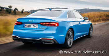 2021 Audi A5 price and specs