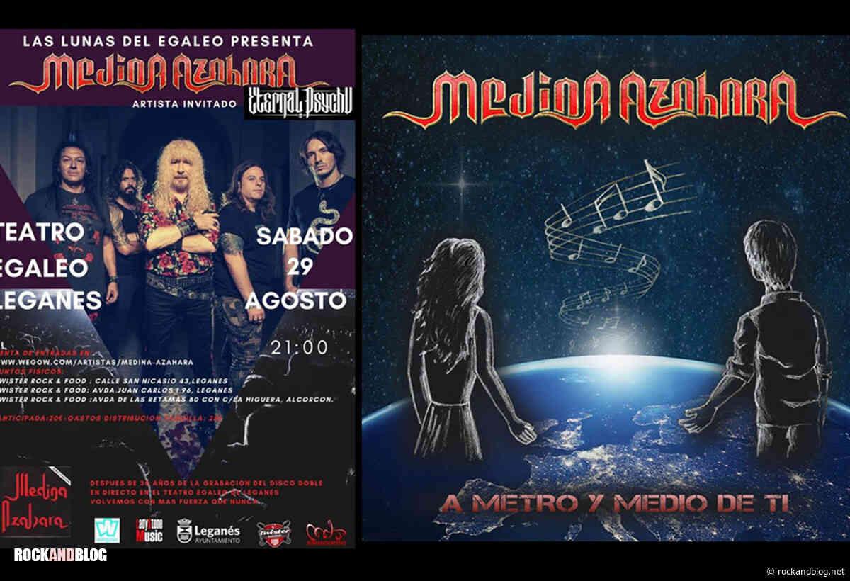 MEDINA AZAHARA + ETERNAL PSYCHO en Leganés - ROCK and BLOG