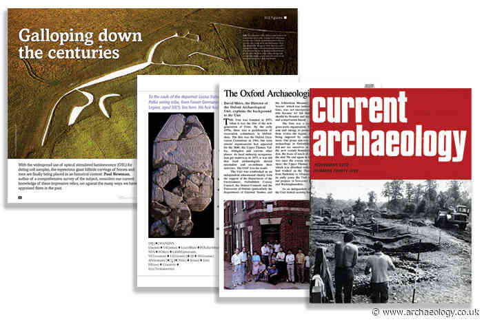 Excavating the CA archive: Oxfordshire