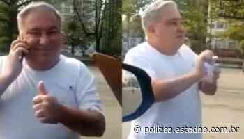 Desembargador que humilhou guarda reaparece sem máscara em praia de Santos - Política Estadão