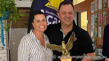 Gympie's 'Mr and Mrs Pizza' honoured with rare global award - Gympie Times