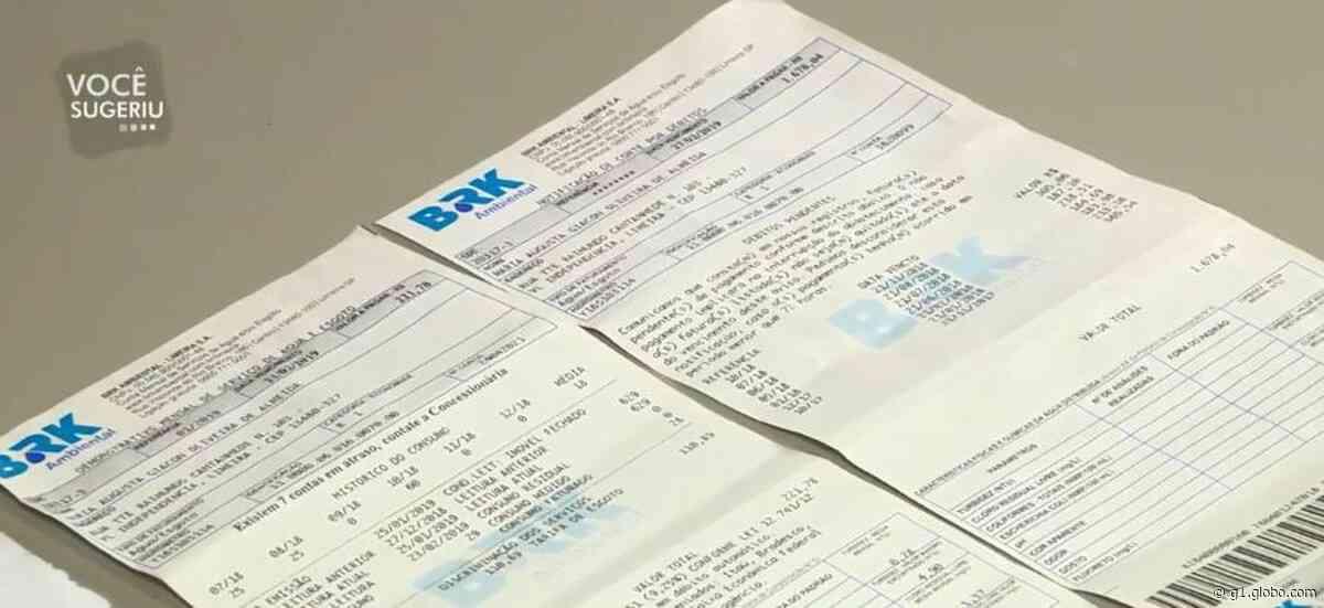 Limeira cria novas regras para conceder tarifa popular de água e esgoto a famílias de baixa renda - G1