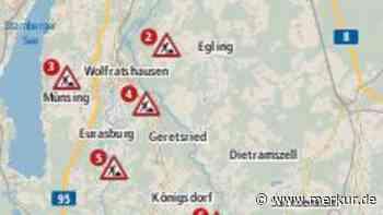 Die Sommerbaustellen im Landkreis - Merkur.de