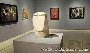 'Cabeza de apóstol', de Oteiza, en el Carmen Thyssen de Málaga - Noticias de Navarra
