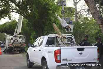 Cortes frecuentes de energía tienen de correr al sector El Carmen - La Prensa de Honduras