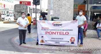 CROC promueve el uso de cubrebocas en Playa del Carmen - Cancún Mio