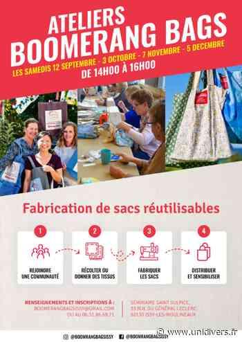 Ateliers Boomerang Bags Séminaire Saint-Sulpice samedi 12 septembre 2020 - Unidivers