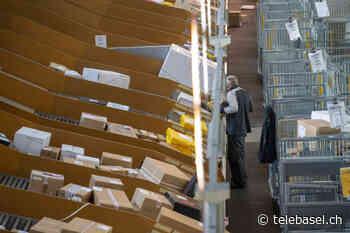 Schweizer senden im Juli wieder weniger Pakete - Telebasel