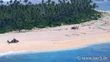 SOS: Drei Männer stranden auf Pazifikinsel und senden Hilferuf   Nachrichten   Aktuell - SWR3