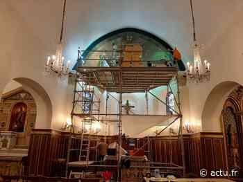 Yvelines. L'église Saint-Eustache de Viroflay s'offre un coup de jeune intérieur - actu.fr