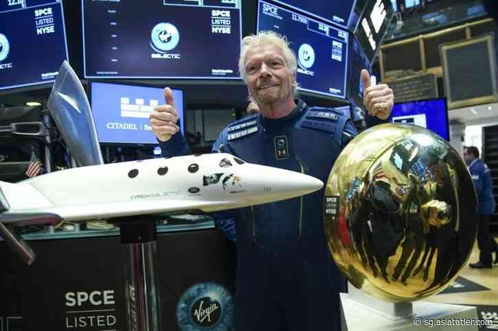 Billionaire Richard Branson Could Travel to Space as Virgin Galactic's First Passenger in 2021 - Tatler Singapore