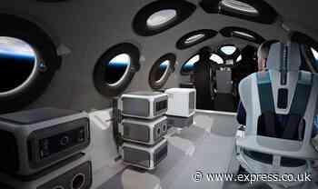 Virgin Galactic news: Take a peek inside Richard Branson's sleek SpaceShipTwo cabin - Daily Express