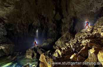 Forschung bei Blaubeuren - Durchbruch und neue Probleme in der Blauhöhle - Stuttgarter Zeitung
