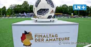 Landespokalfinale mit dem VfB Lübeck live im Ersten: Ärger um Testspiele