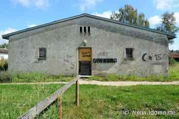 Moosburg an der Isar: Baracken mit Graffiti beschmiert - idowa