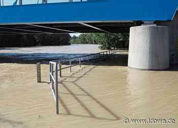 Moosburg an der Isar: Wasserstand sinkt langsam wieder - idowa