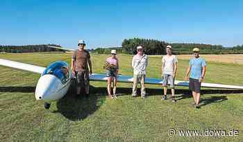 Moosburg an der Isar: Flugschüler des LSV Albatros sind das erste Mal allein geflogen - idowa