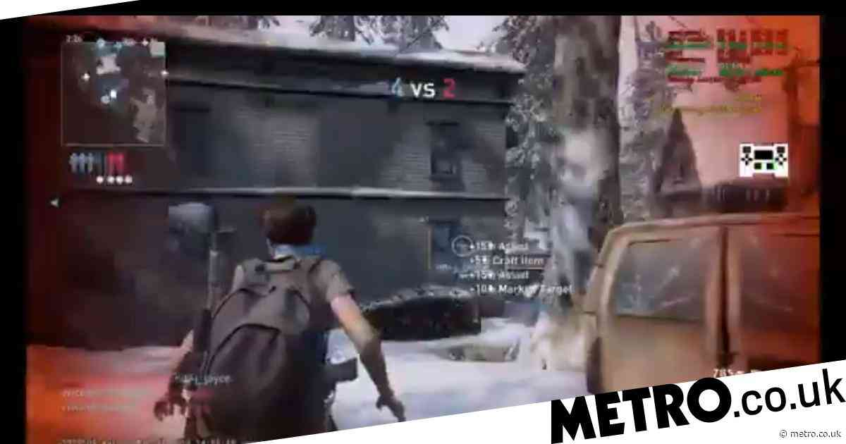 The Last Of Us Part 2 Factions multiplayer gameplay video leaks