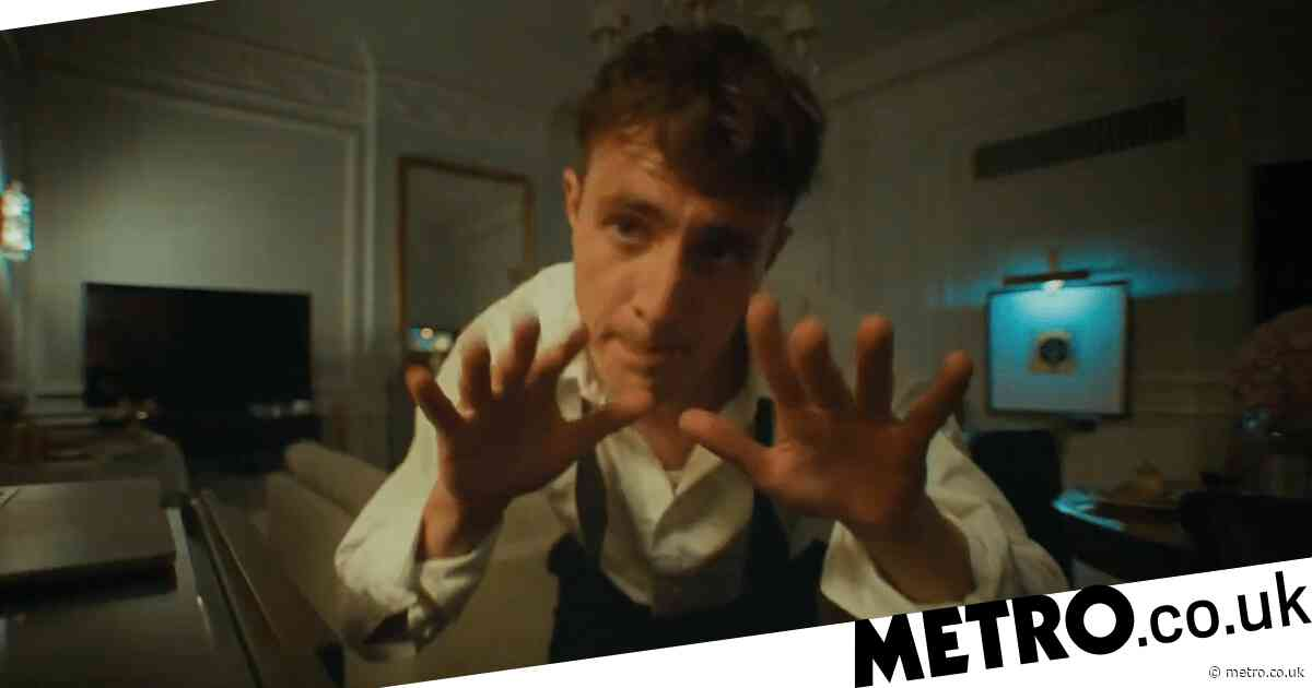 Paul Mescal has an absolute riot in Claridge's in The Rolling Stones' Scarlet music video