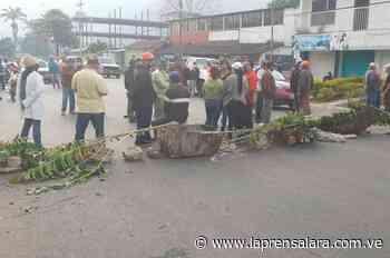 En Caripe continúan en las calles exigiendo combustible - La Prensa de Lara