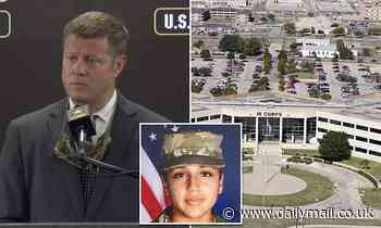 Army Secretary discusses Giullen case and independent review from Fort Hood